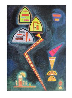 Wassily Kandinsky Gruen, 1929