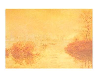 Claude Monet Sonnenuntergang