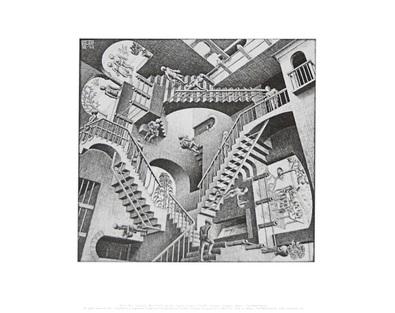 MC Escher Relativitaet
