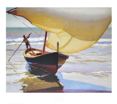 Arthur Grover Rider Fishing Boat