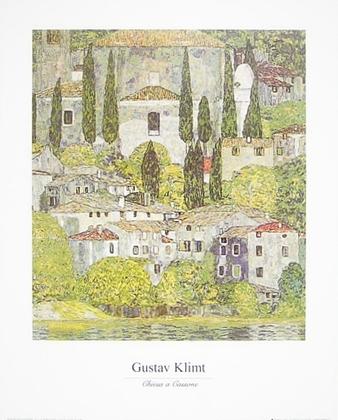 Gustav Klimt Kirche in Cassone