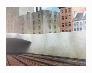 Edward Hopper Ankunft in der Stadt