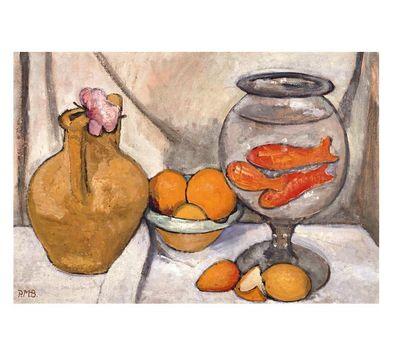 Paula Modersohn-Becker Stillleben mit Goldfischglas