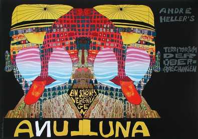Friedensreich Hundertwasser ANDRE HELLERS LUNA LUNA