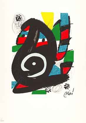 Joan Miro La Melodie Acide XI