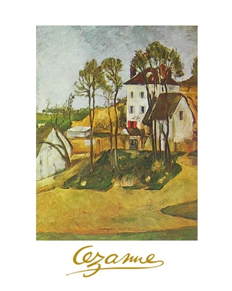 Paul Cezanne Das Haus Dr. Gachets in Auvers