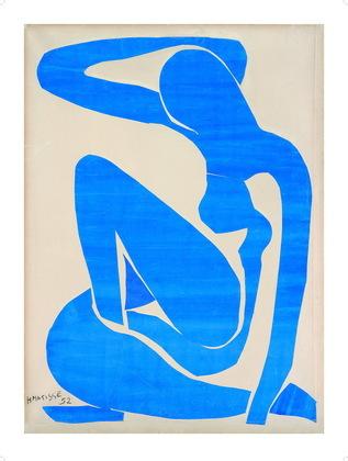 Henri Matisse Blauer Frauenakt I