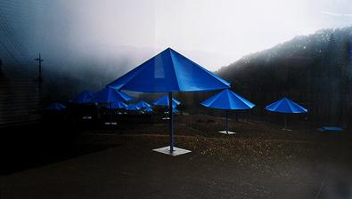 Wolfgang Volz Panorama Umbrellas-Jap-Jinba