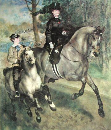 Pierre Auguste Renoir Die Amazone
