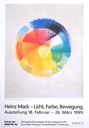 Heinz Mack Galerie der Jenoptik AG 1999
