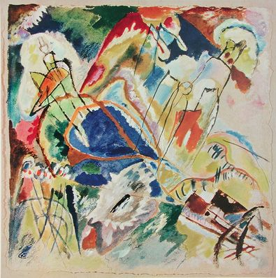 Kandinsky wassily entwurf zu improvisation no 30 large