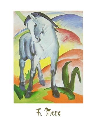 Franz Marc Blaues Pferd I