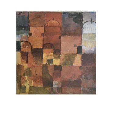 Paul Klee Rote und weisse Kuppeln