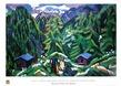 Kirchner ernst ludwig mountain landscape from clavadel l