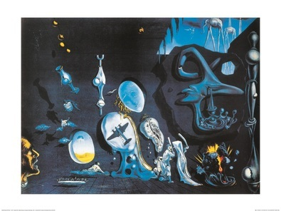 Salvador Dali Idylle atomique et uranique melanconique (gross)
