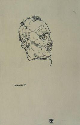 Egon Schiele Der tote Gustav Klimt   1918