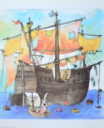 Janosch Piratenschiff