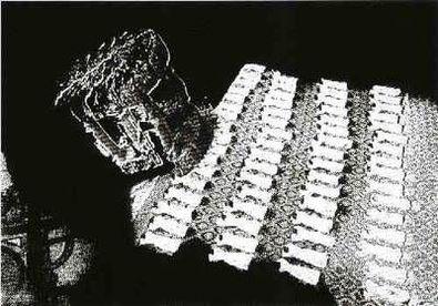 Astrid Klein Blendwerk (1985)