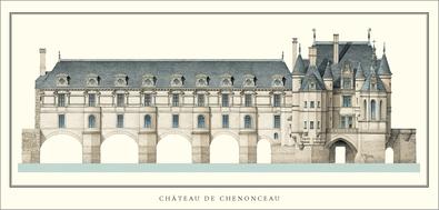 Philibert Delorme Schloss Chenonceau