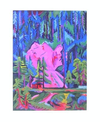 Ernst Ludwig Kirchner Steinbruch bei Wildboden