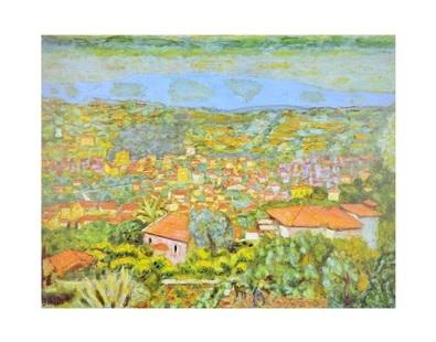 Pierre Bonnard Panorama La Cannet 1941