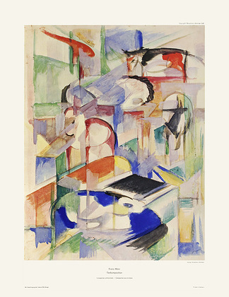 Franz Marc Tierkomposition (Composition with Animals)