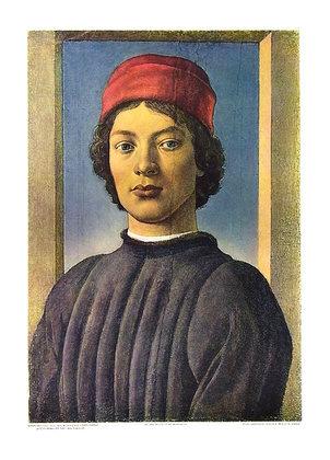 Sandro Botticelli Bildnis eines jungen Mannes (klein)
