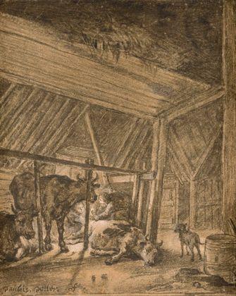 Paul Potter Die kalbende Kuh