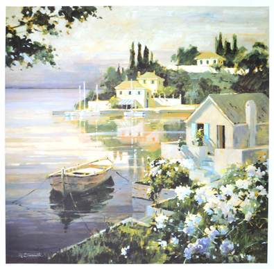 Marilyn Simandle Tranquil Bay