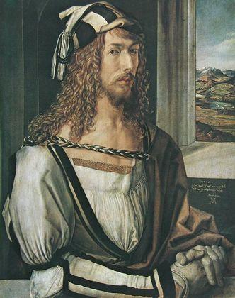 Albrecht Duerer Selbstbildnis 1498