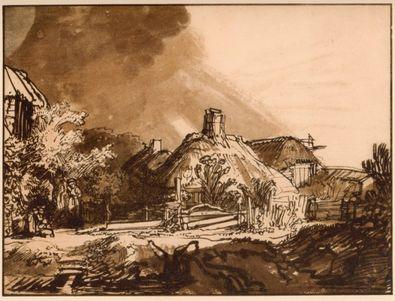 Rembrandt Gewitterlandschaft