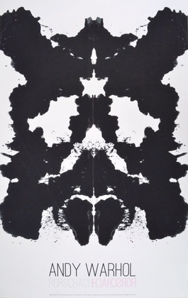 Andy Warhol Rorschach 1984
