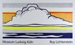 Roy Lichtenstein Cloud and Sea