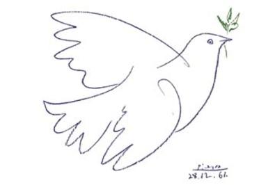 Pablo Picasso Colombe Bleue
