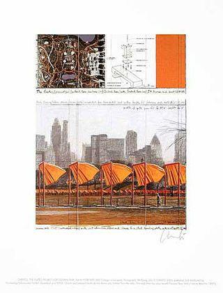 Christo und Jeanne-Claude The Gates XXV