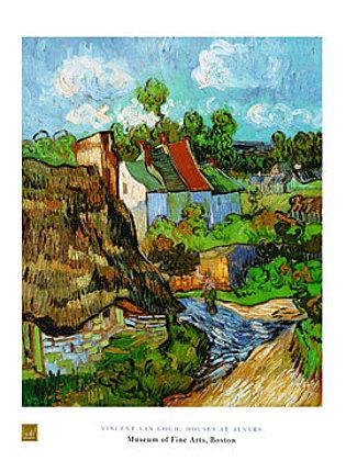 Vincent van Gogh Houses at Auvers