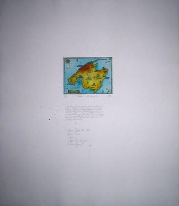Monika Dawidowski Mallorca Landkarte