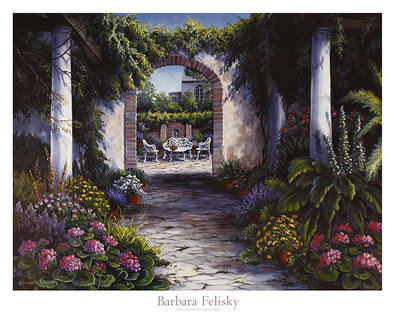 Barbara Felisky Savannah Courtyard