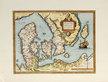 Ortelius abraham daniae regni typus map of denmark medium