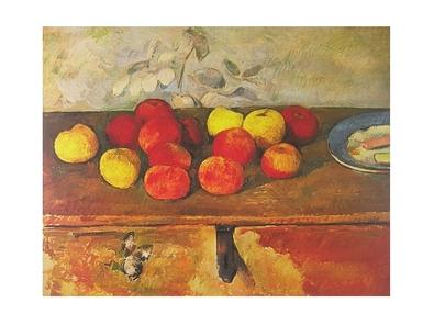 Paul Cezanne Pommes et biscuits