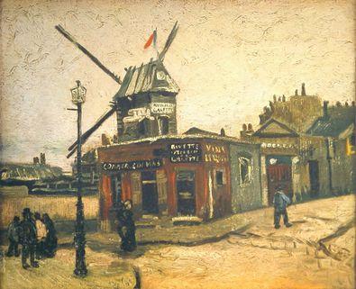 Vincent van Gogh Moulin de la Galette
