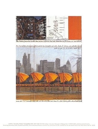 Christo The Gates XXV (unsign)