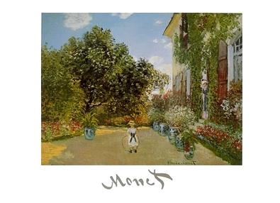 Claude Monet Kuenstlerhaus in Argenteuil
