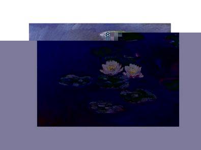Claude Monet Evening flower