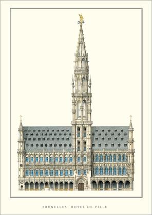 Jan van Ruysbroeck Bruessel, Hotel de Ville