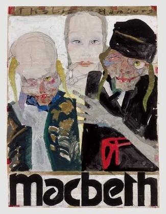 Horst Janssen Macbeth handsigniert
