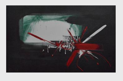 Georges Mathieu Komposition
