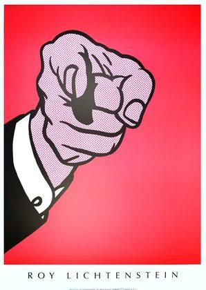 Roy Lichtenstein Hey You!