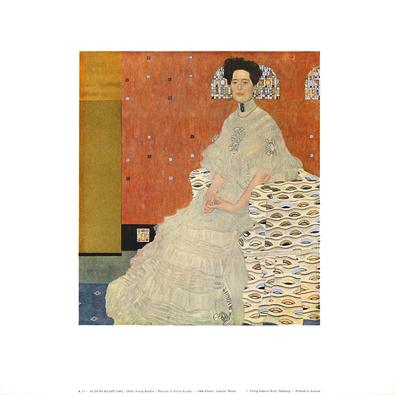 Gustav Klimt Fritza Riedler, 1906 (K 13)