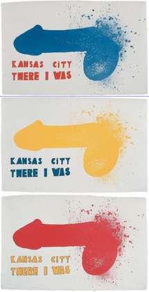 Jim Dine Kansas City (Mappe 3Blatt)